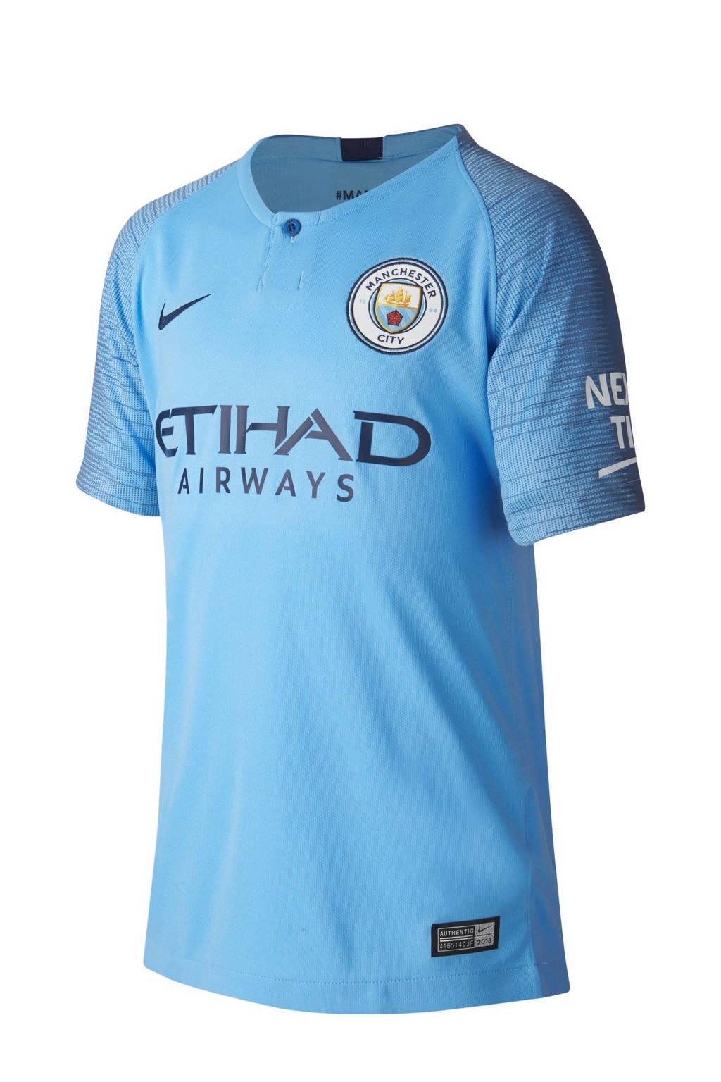 Nike Junior Manchester City voetbalshirt, Blauw