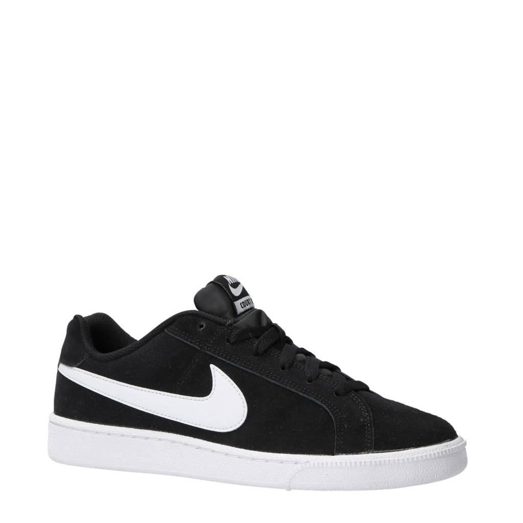 Nike  Court Royale suède sneakers zwart/wit, Zwart/wit