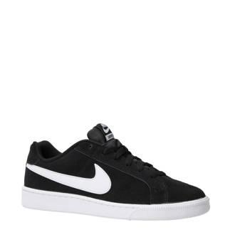 Court Royale suède sneakers zwart/wit