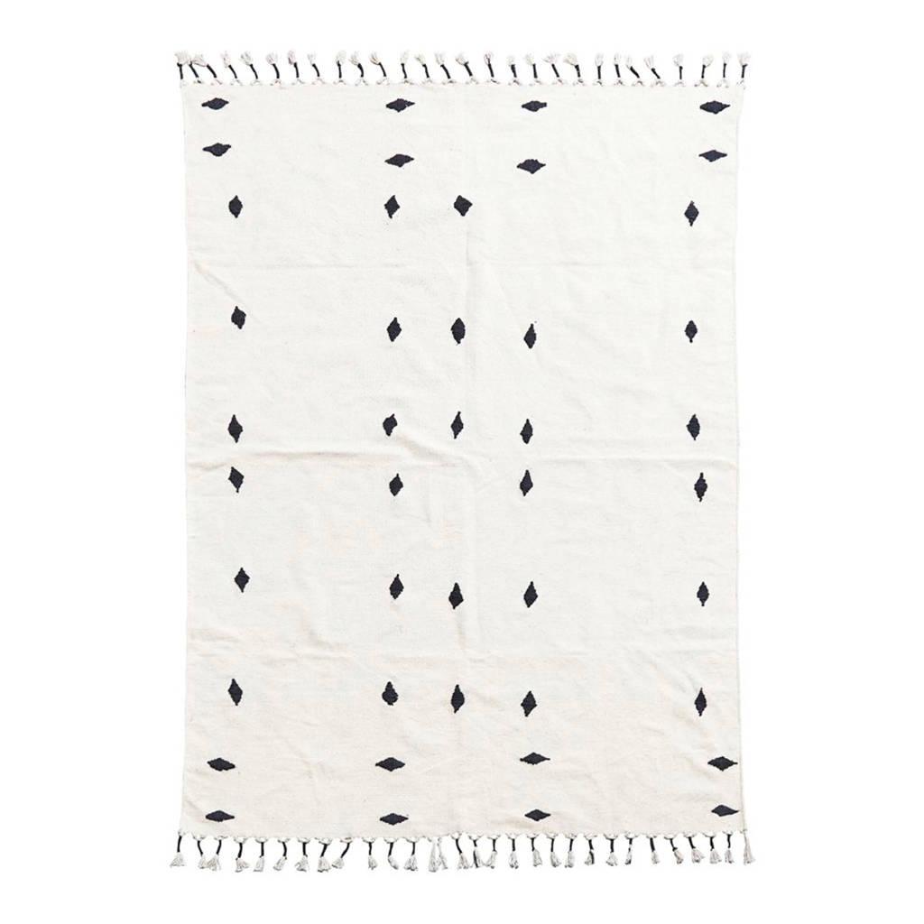 House Doctor vloerkleed Backside  (200x140 cm), Gebroken wit