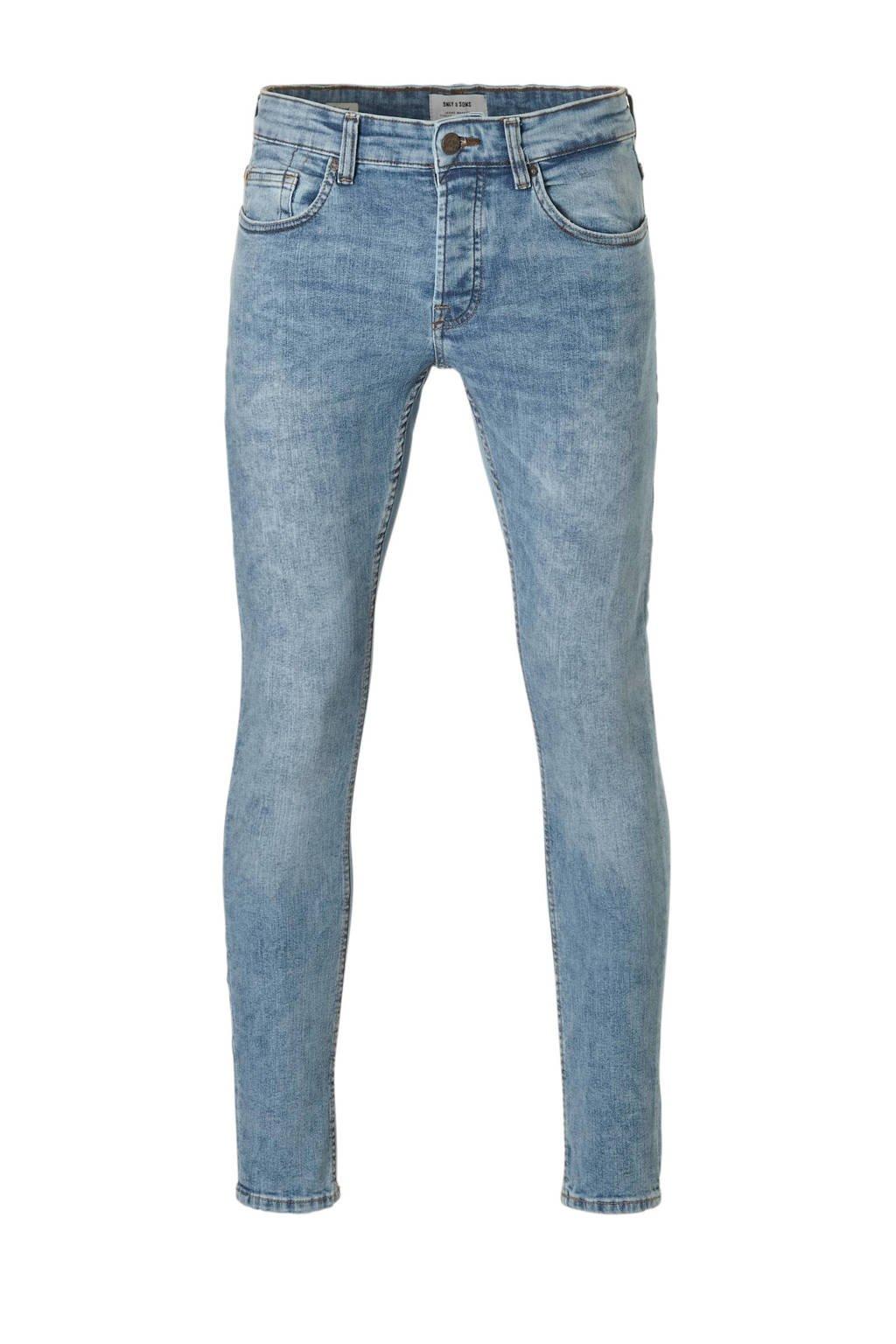 Only & Sons slim fit jeans, Light denim