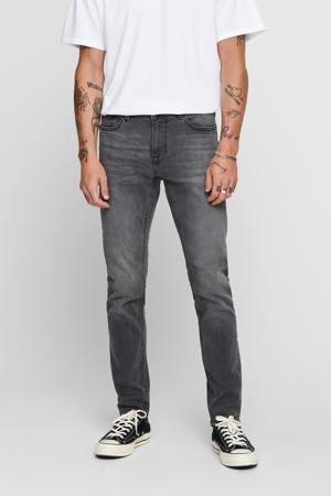 skinny jeans Warp grijs
