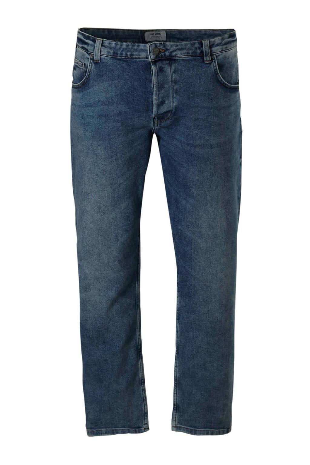 Only & Sons PLUS slim fit jeans, Light denim