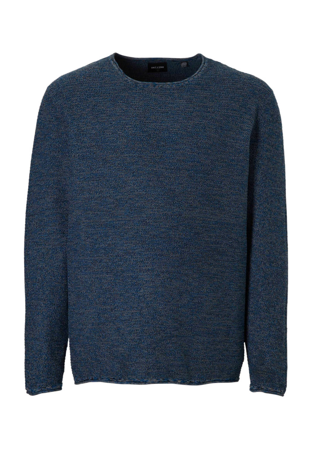 Only & Sons PLUS plussize trui, Blauw
