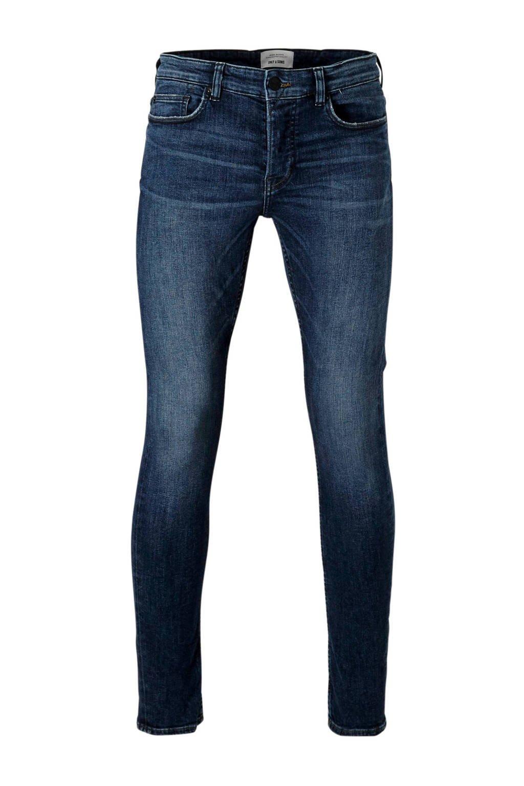 Only & Sons slim fit jeans, Dark denim