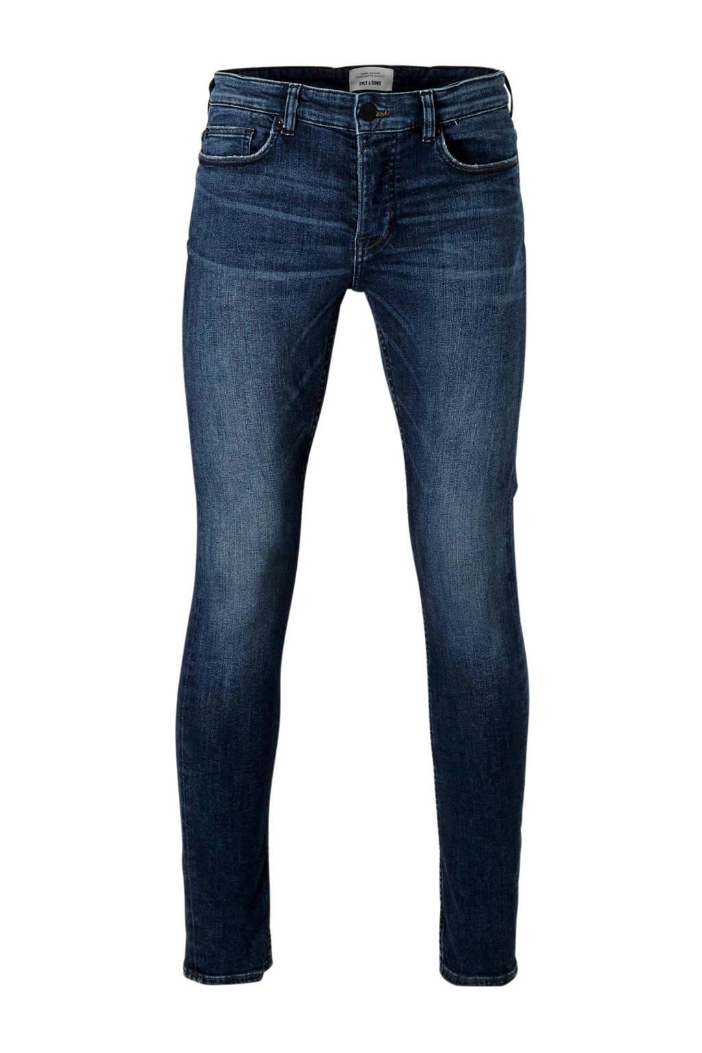 Only & Sons  slim slim fit jeans, Dark denim