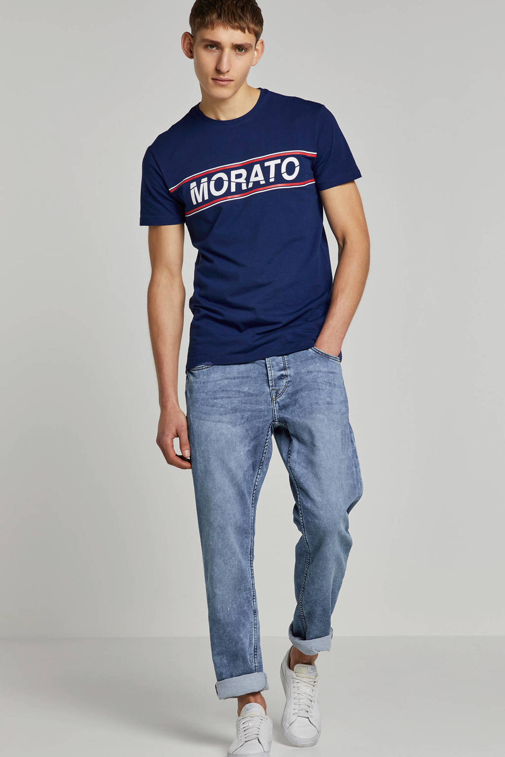 Only & Sons slim fit jeans, Blauw