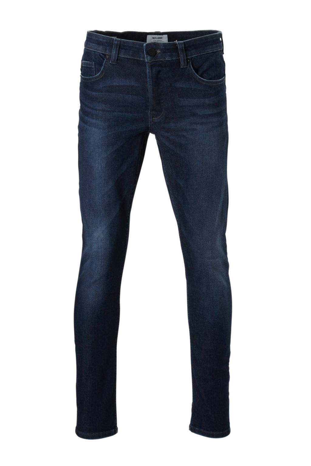 Only & Sons slim fit jeans, Dark denim