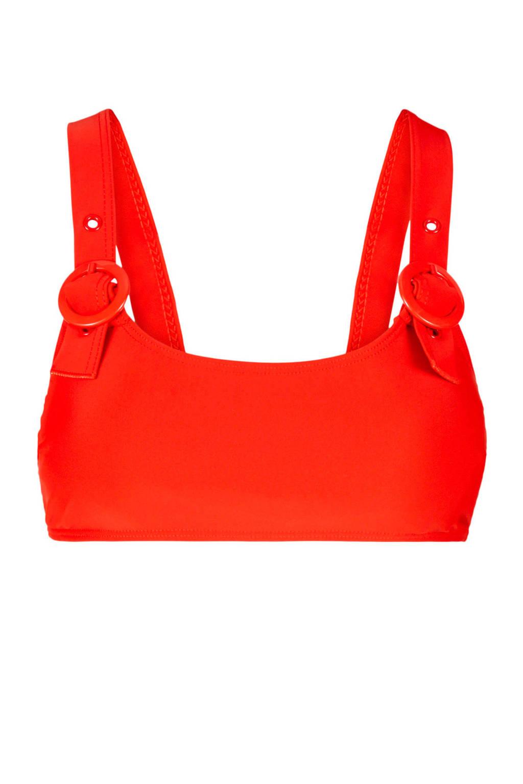 Y.A.S bandeau bikinitop rood, Rood