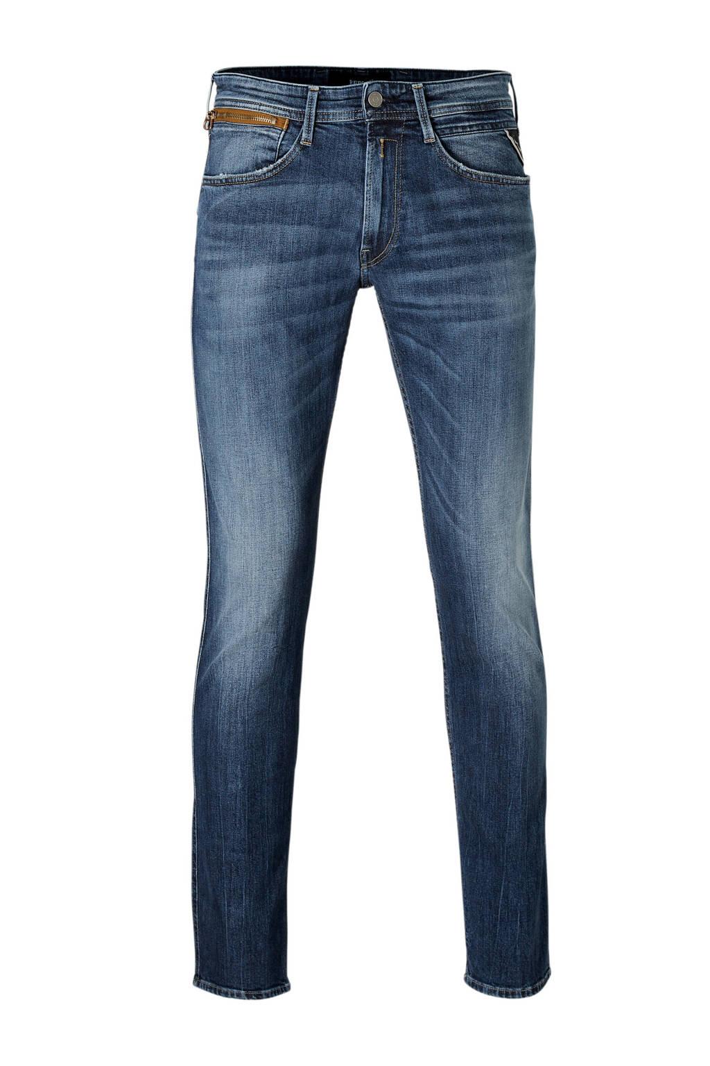 REPLAY slim fit jeans Anbass, Dark denim