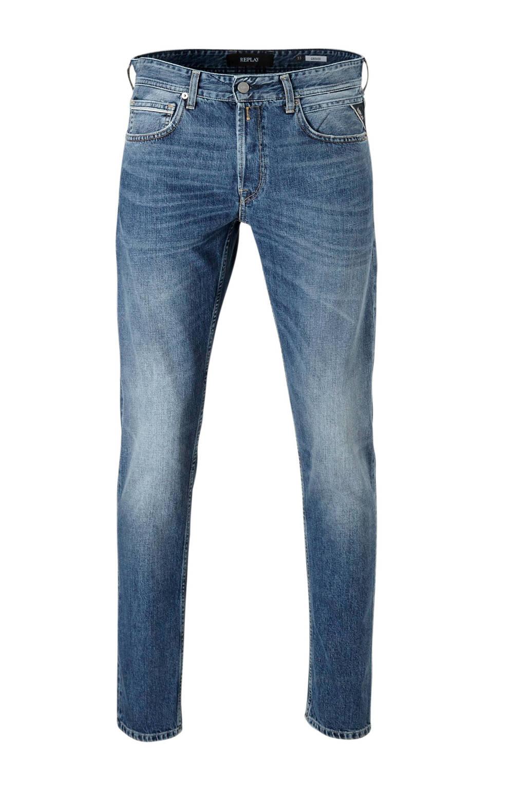 REPLAY regular fit jeans Grover, Light denim