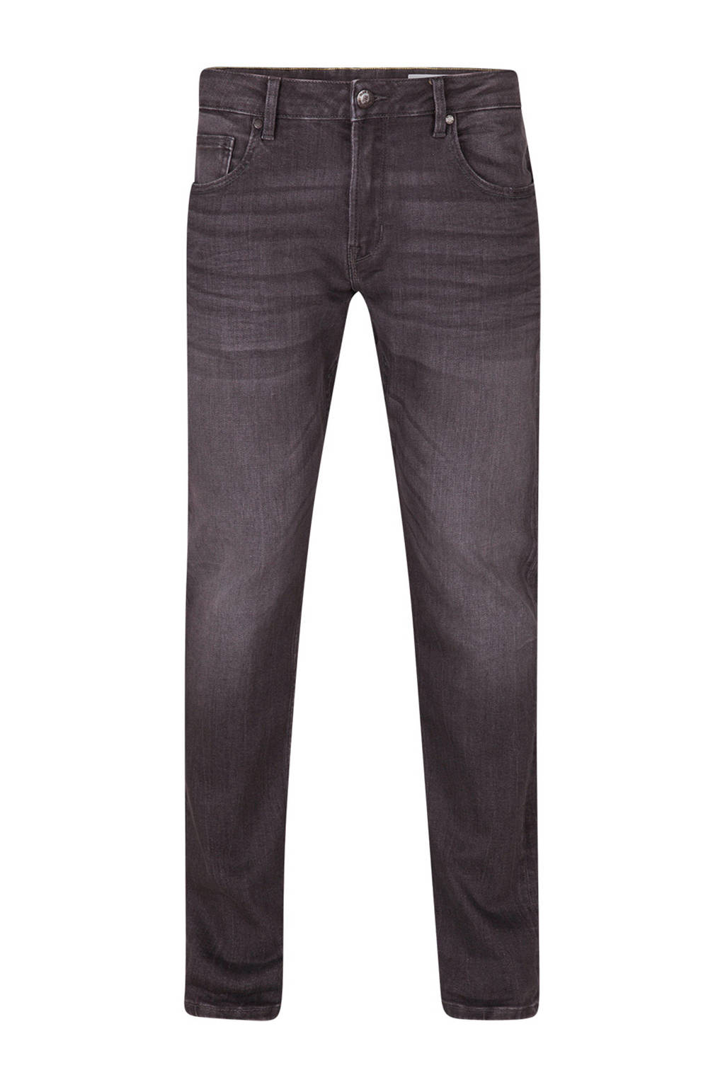WE Fashion Blue Ridge regular fit jog denim, Grijs