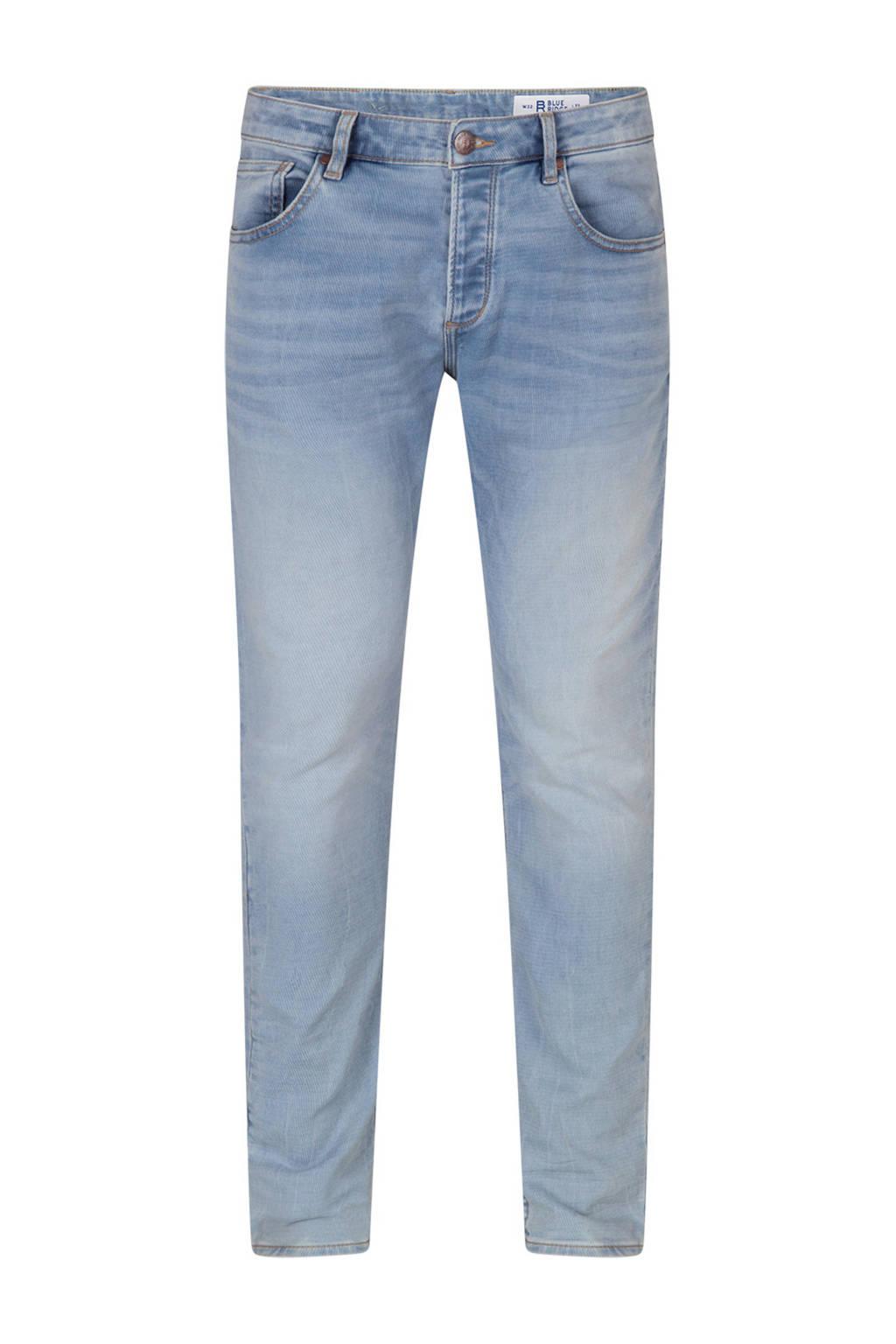 WE Fashion Blue Ridge slim fit jeans, Blauw