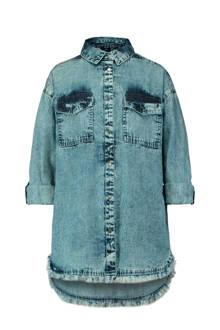 denim blouse stonewashed
