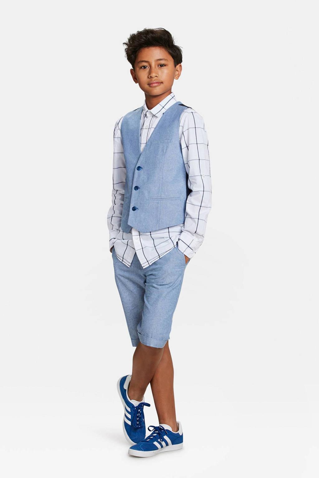 WE Fashion gilet lichtblauw, Lichtblauw