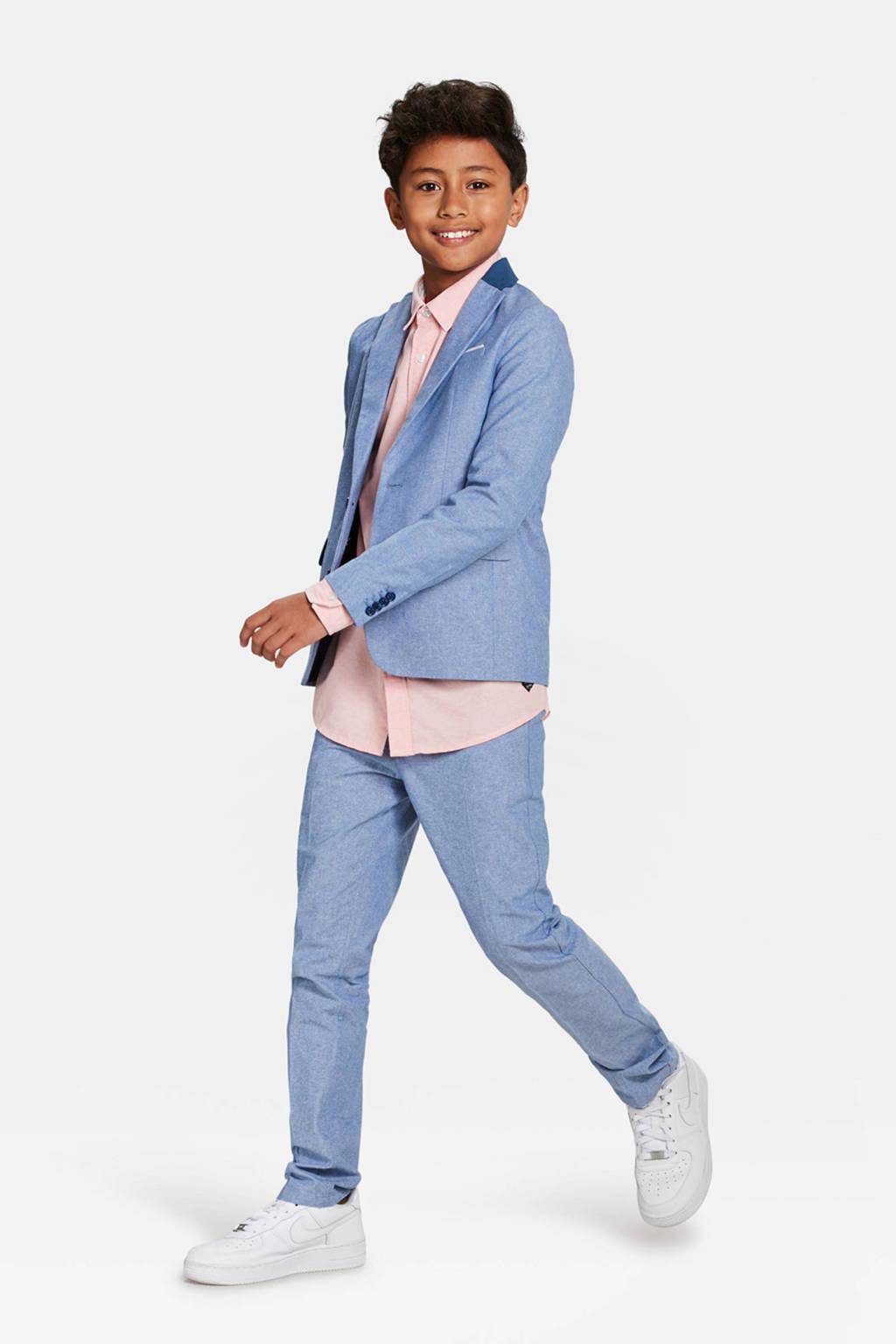 WE Fashion colbert lichtblauw, Lichtblauw