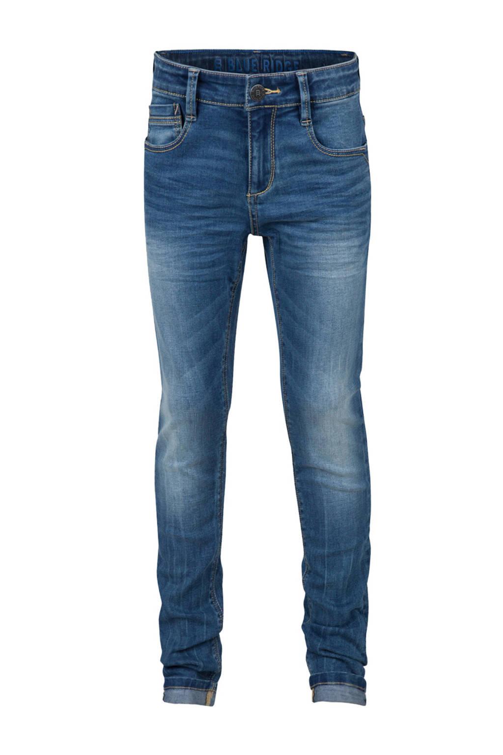 WE Fashion Blue Ridge skinny fit jeans Alfer Salt, Dark denim