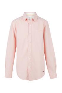 WE Fashion overhemd zalm (jongens)