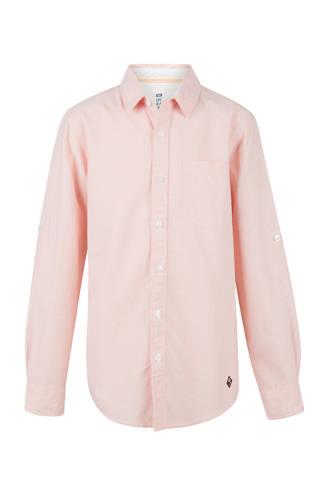 overhemd zalm