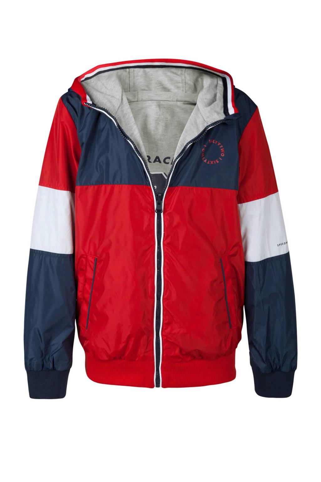 WE Fashion omkeerbare jas rood, Rood