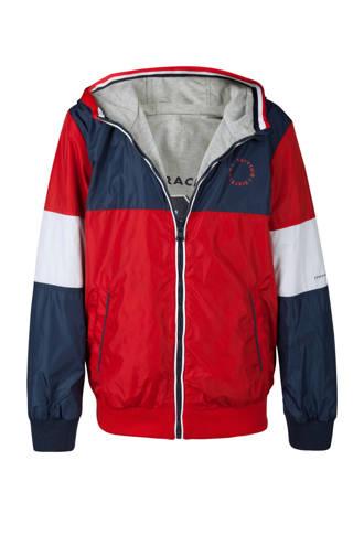 omkeerbare jas rood