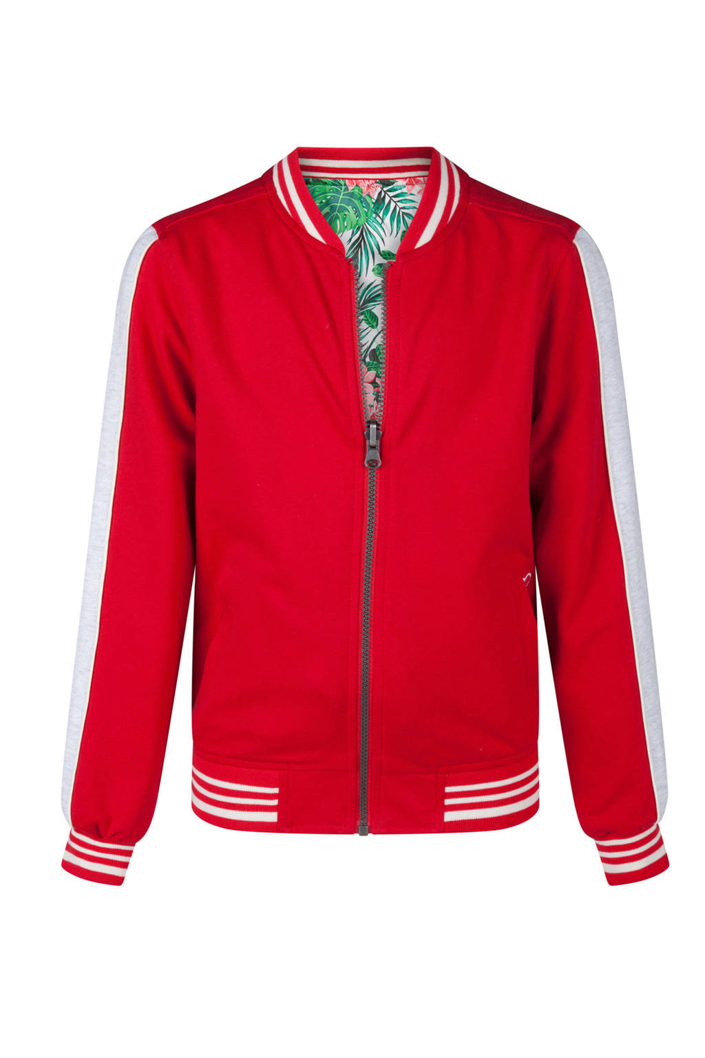 WE Fashion reversible bomberjack rood, Rood