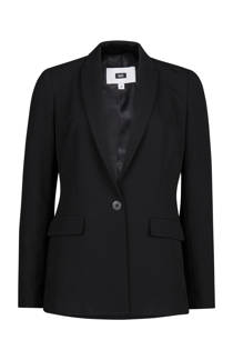 WE Fashion geweven blazer zwart (dames)
