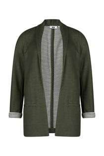 WE Fashion blazer army groen (dames)