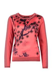 Expresso pullover met printopdruk (dames)