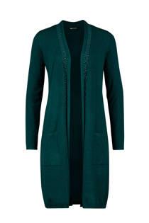 Expresso vest met studs groen (dames)