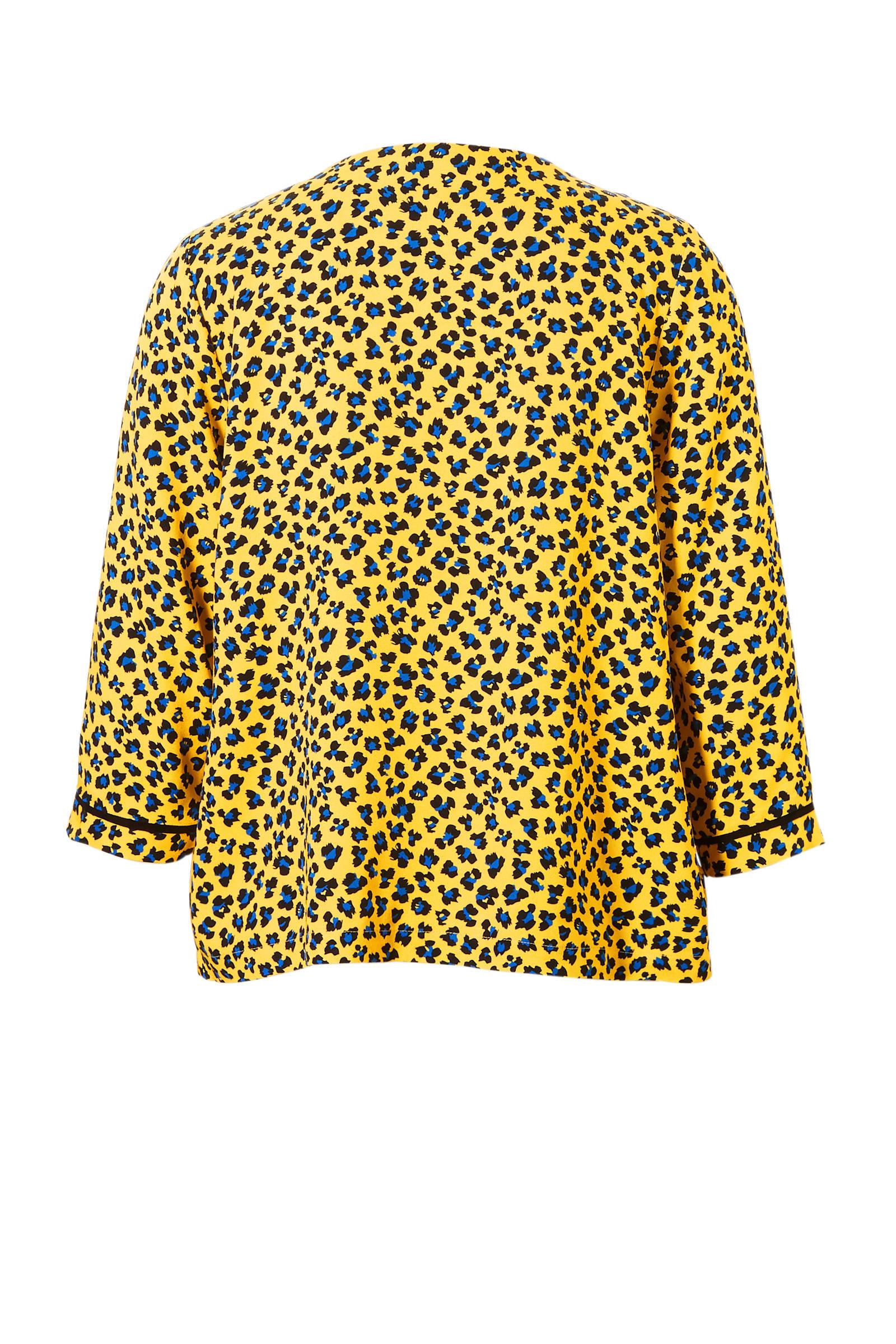 met panterprint met Aaiko Aaiko blouse blouse 7wqvzd7F