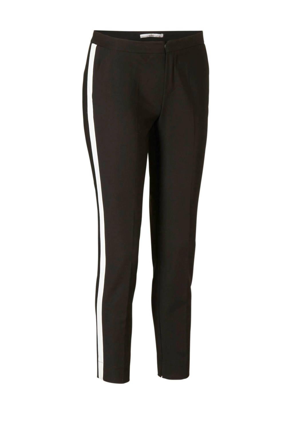 Aaiko slim fit broek Sarene zwart, Zwart