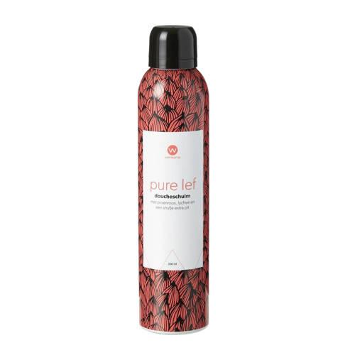 wehkamp pure lef doucheschuim - 200 ml