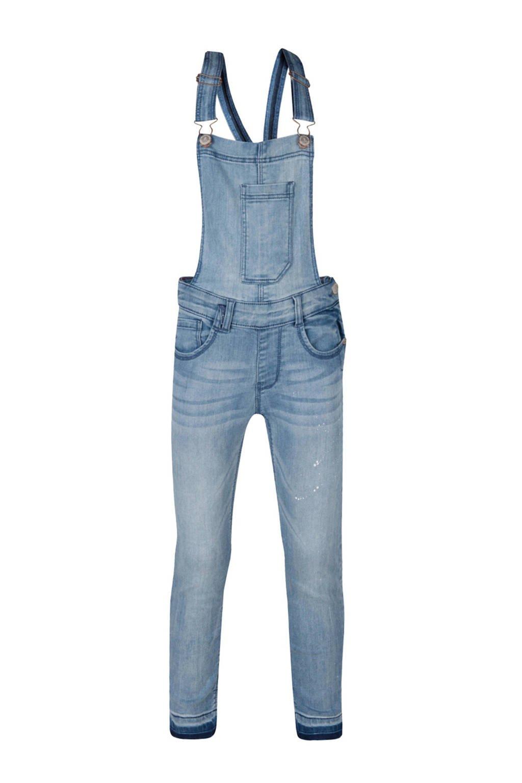 WE Fashion Blue Ridge cropped skinny fit tuinbroek, Light denim