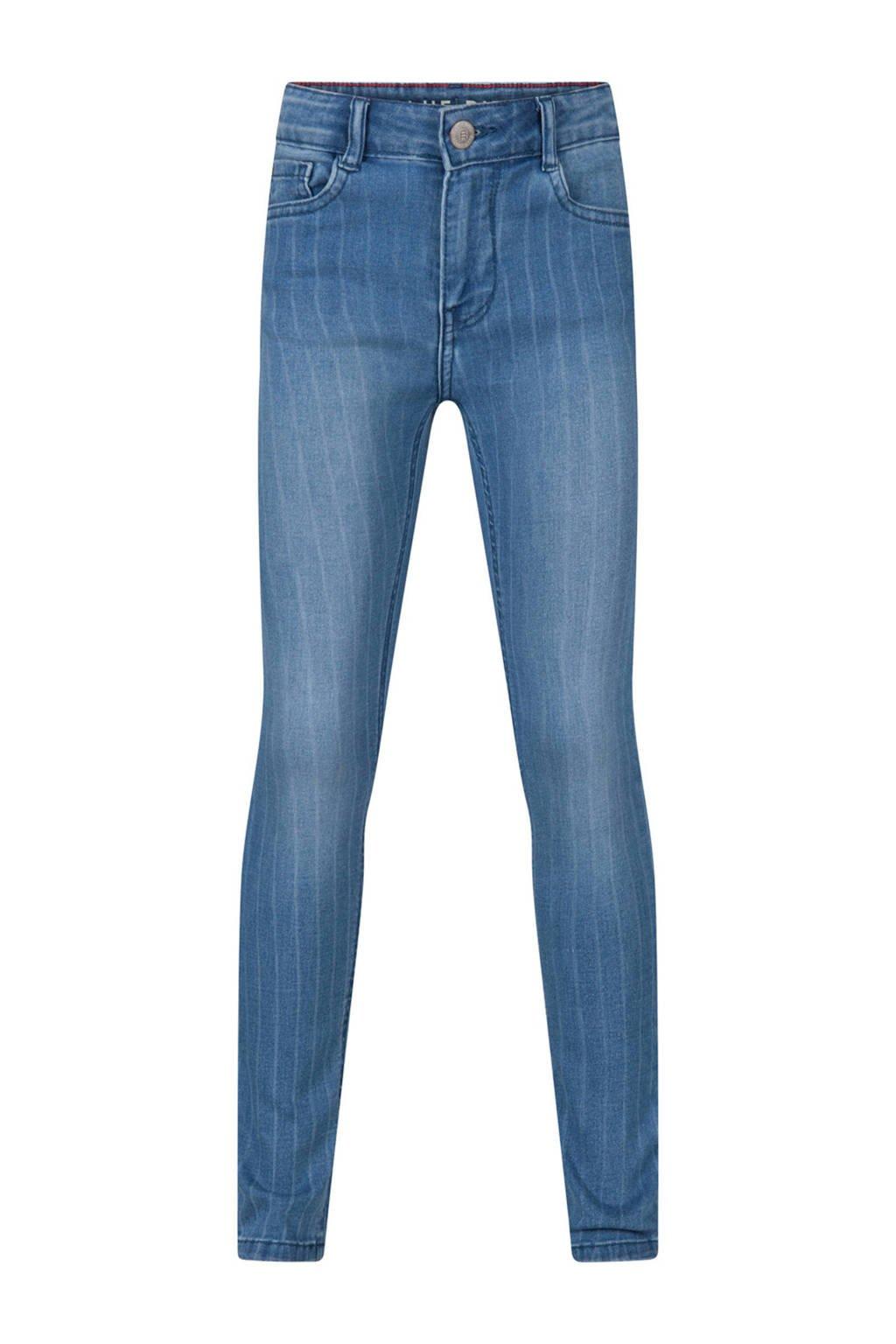 WE Fashion Blue Ridge skinny jeans blauw, Blauw