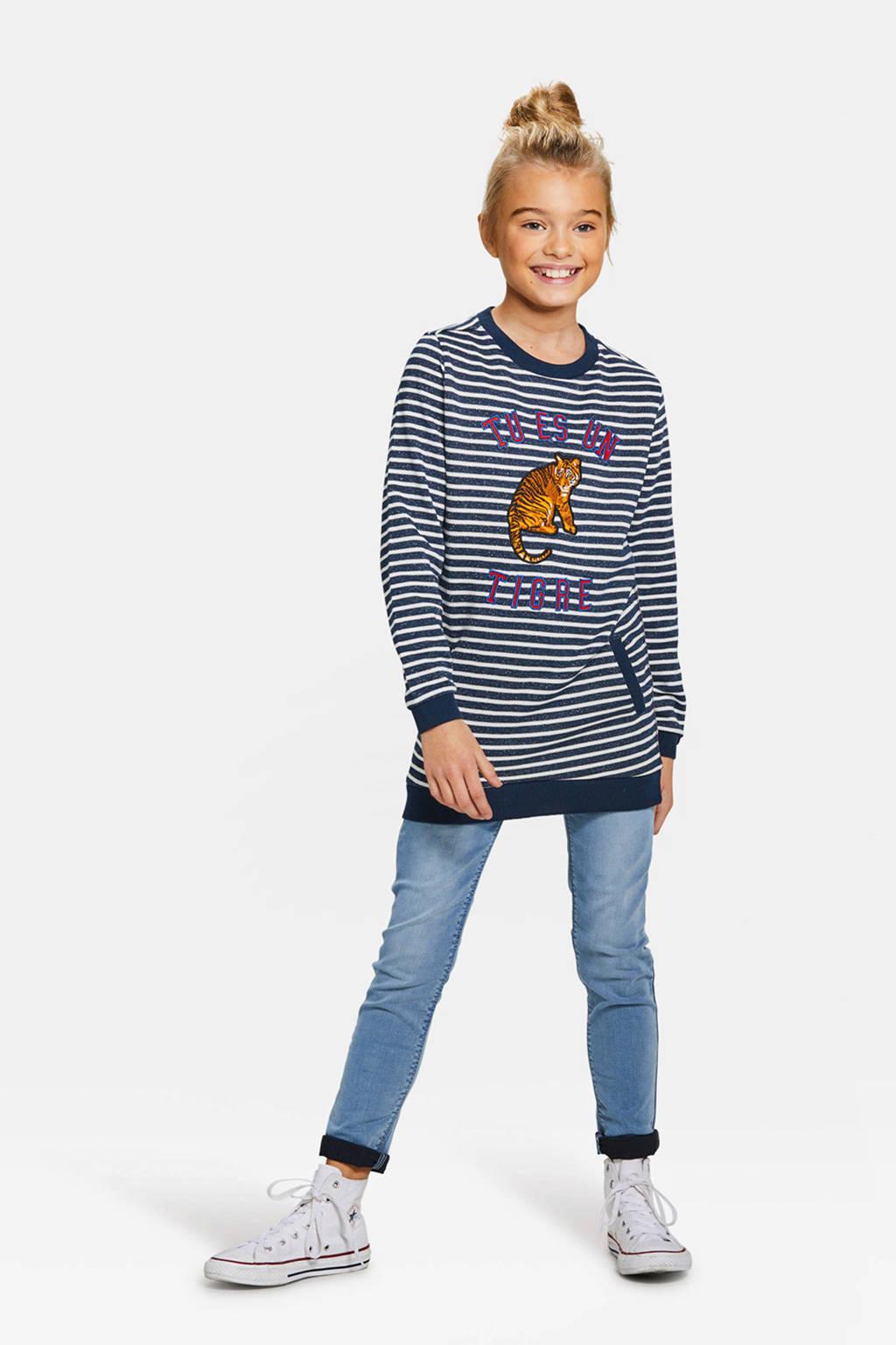 WE Fashion Blue Ridge skinny jeans Yfke, Light denim