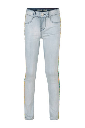 Blue Ridge super skinny jeans Yfke met zijstreep