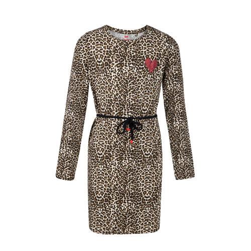 WE Fashion jurk met panterprint kopen