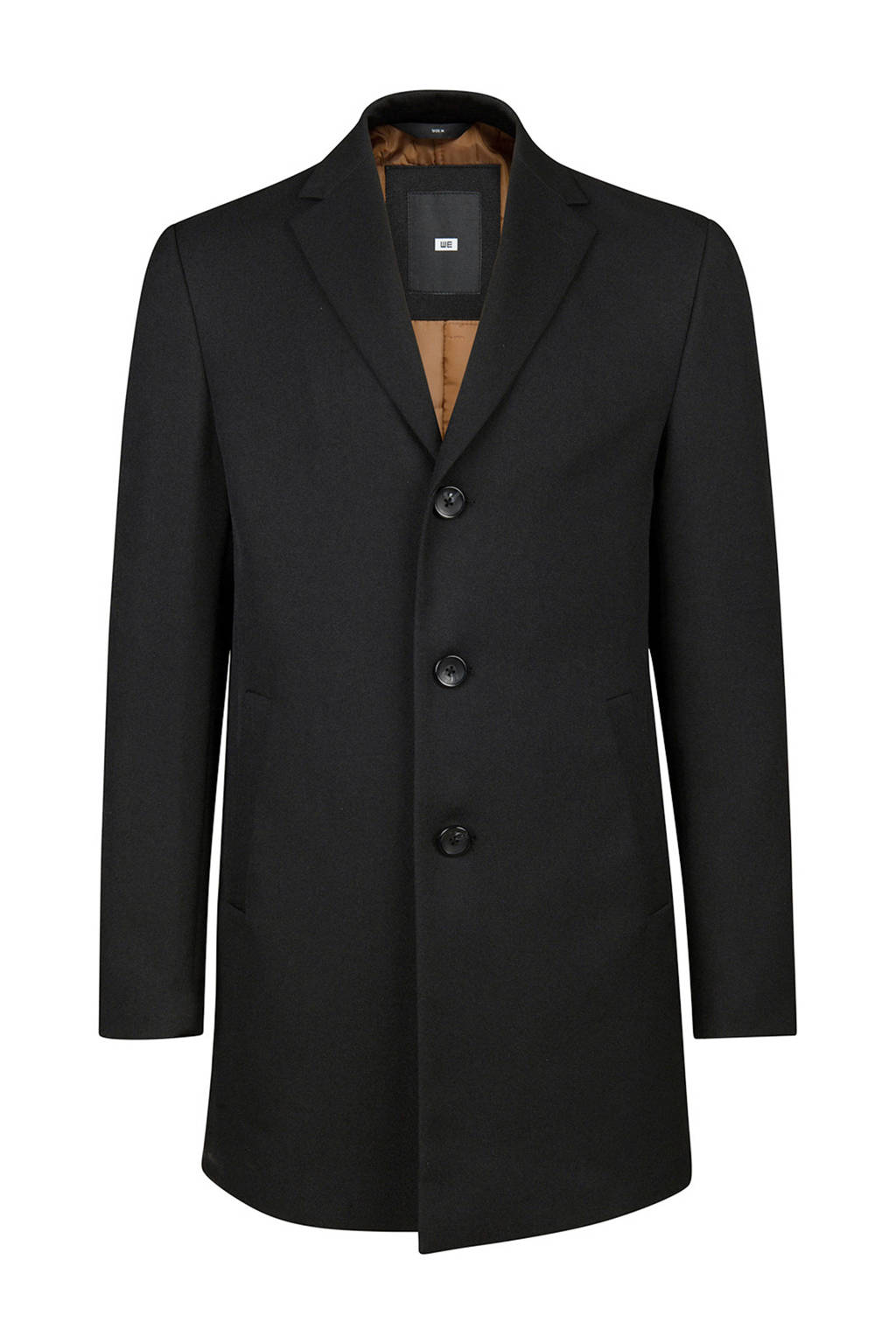 WE Fashion coat zwart, Zwart