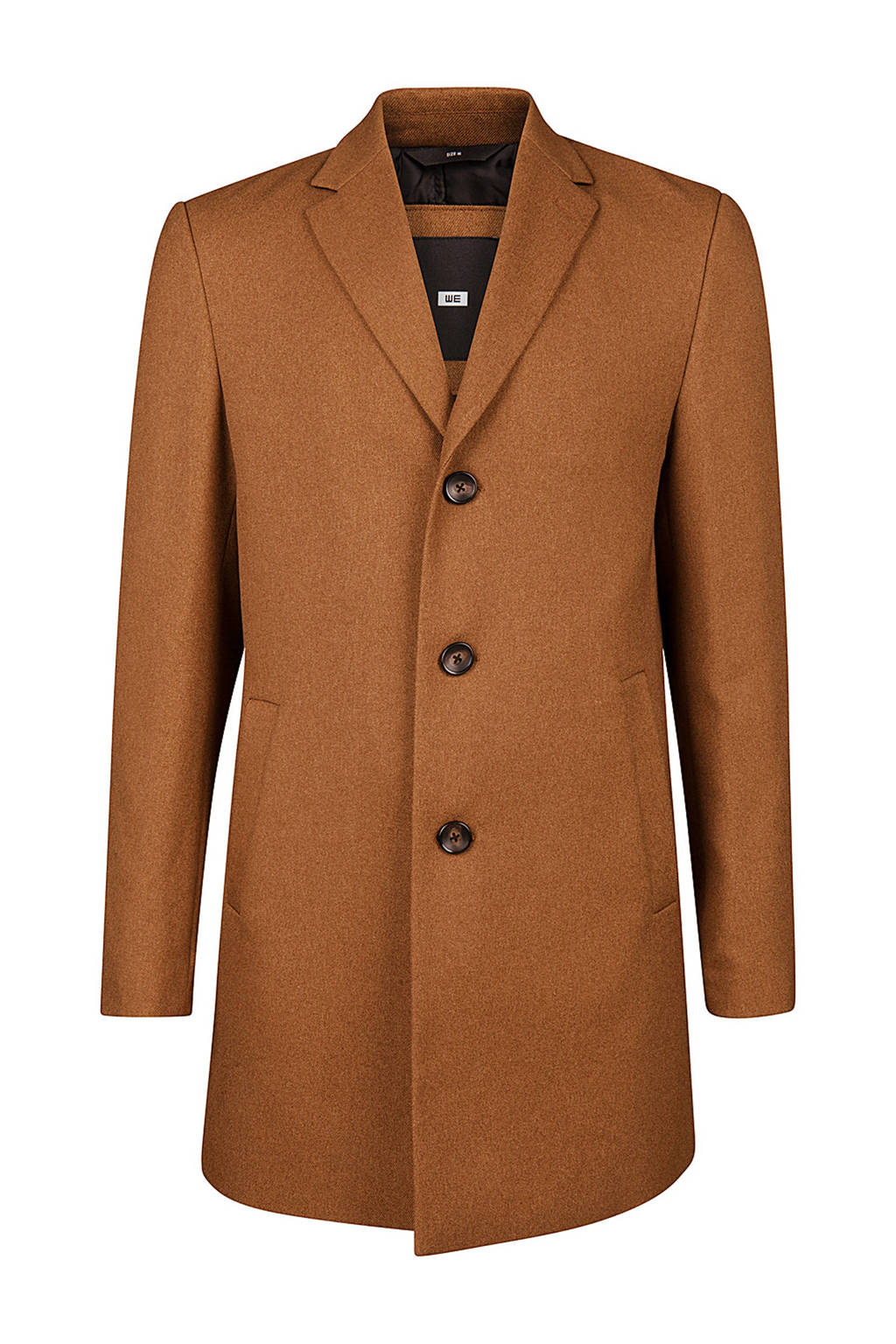 WE Fashion coat bruin, Bruin