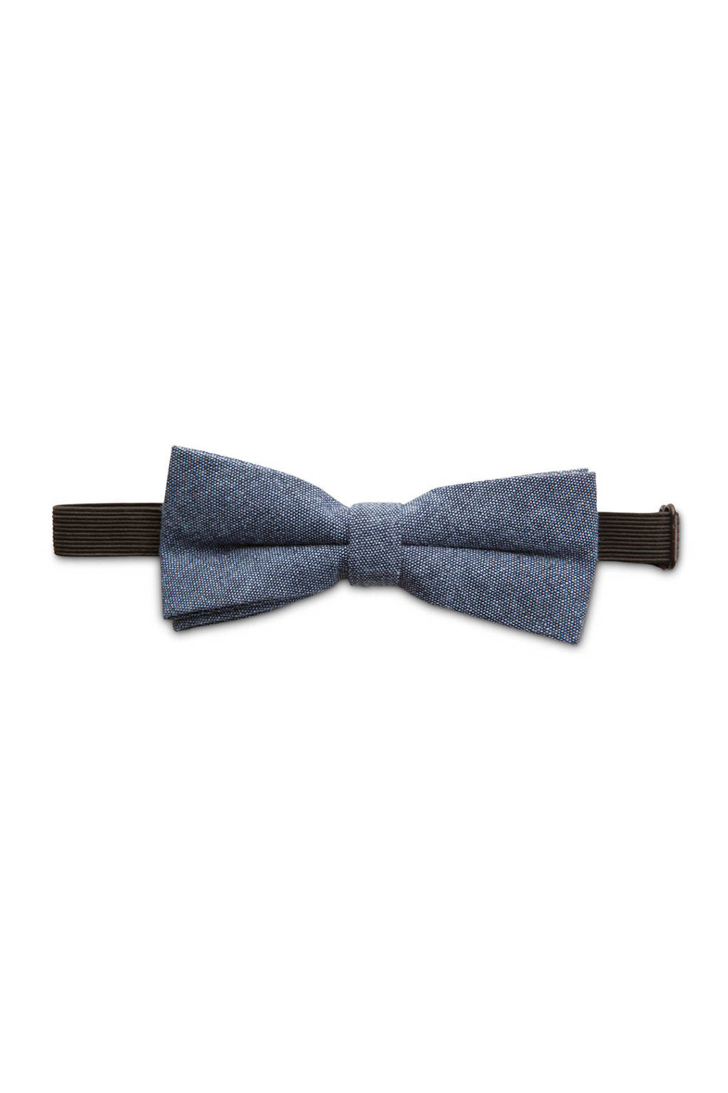 WE Fashion vlinderstrik blue denim, Blue denim