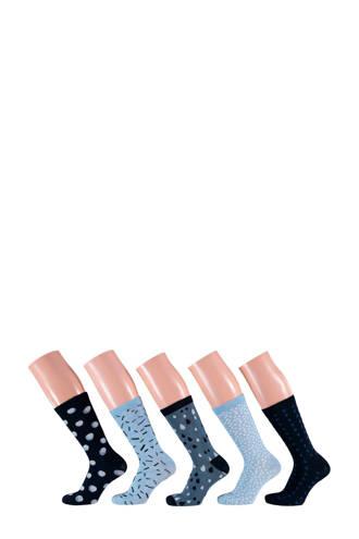 sokken (5 paar) marine