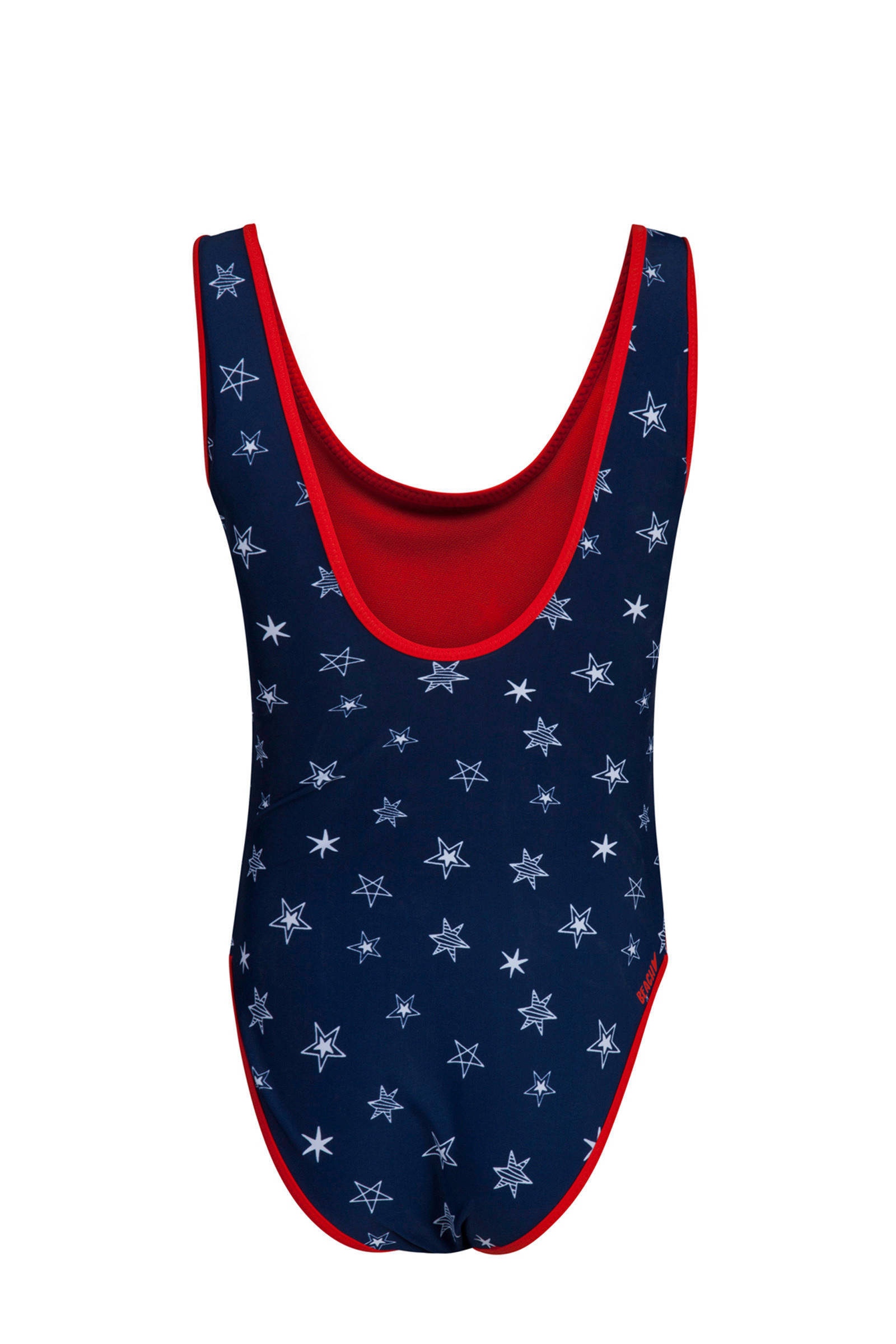 Badpak Fashion.We Fashion Badpak Met Sterrenprint Blauw Wehkamp