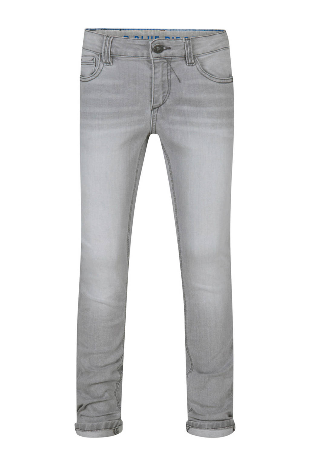 WE Fashion Blue Ridge super skinny jeans Hidde grijs, Grijs