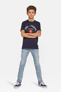 WE Fashion Blue Ridge slim fit jeans light denim, Light denim