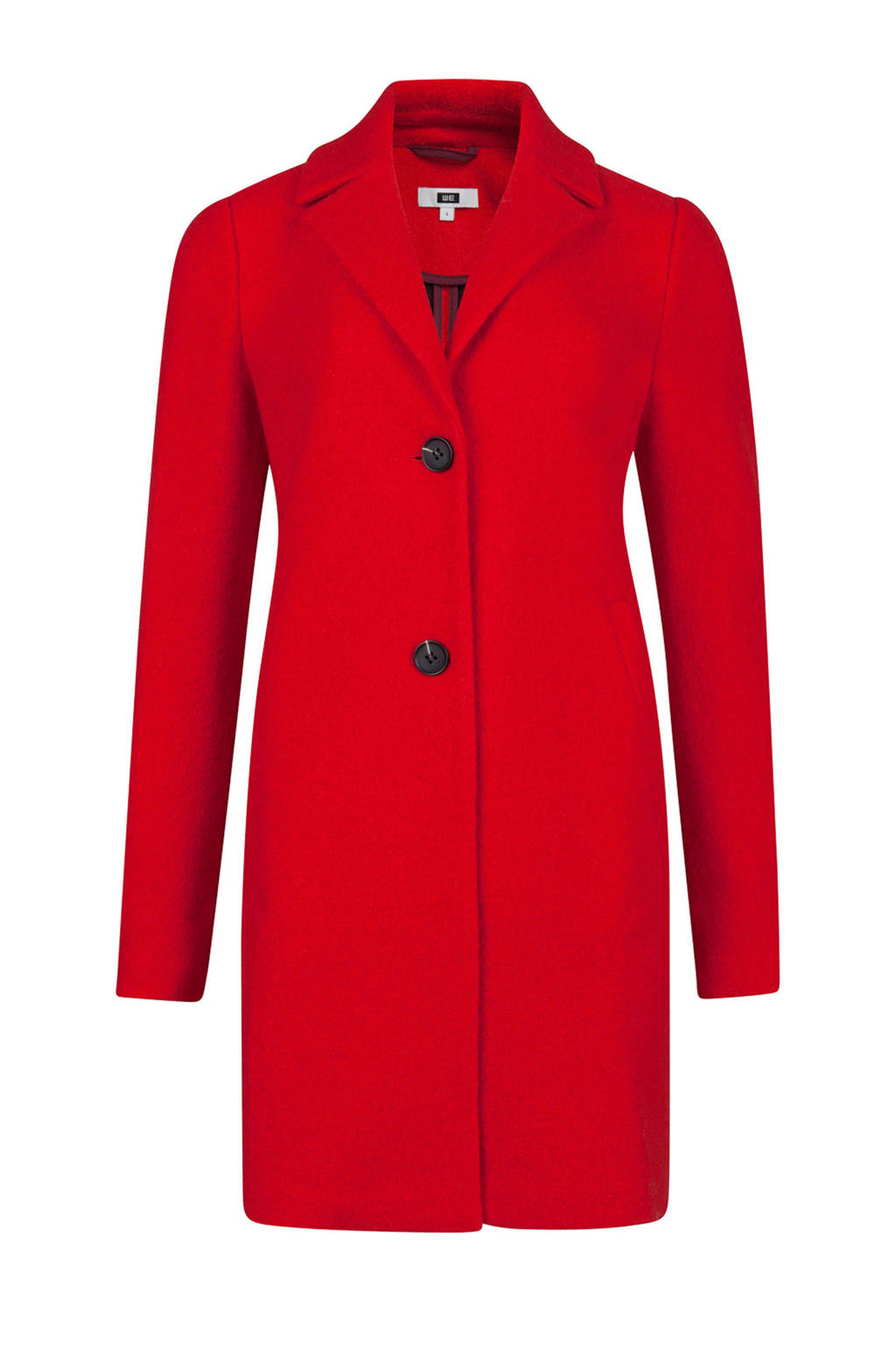 WE Fashion coat rood, Red