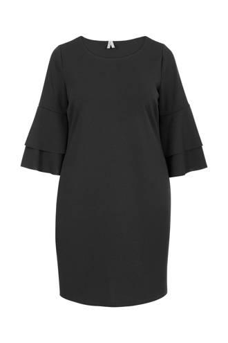 Plus jurk zwart