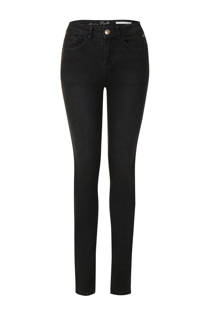 Miss Etam Lang slim fit jeans Puck zwart (dames)