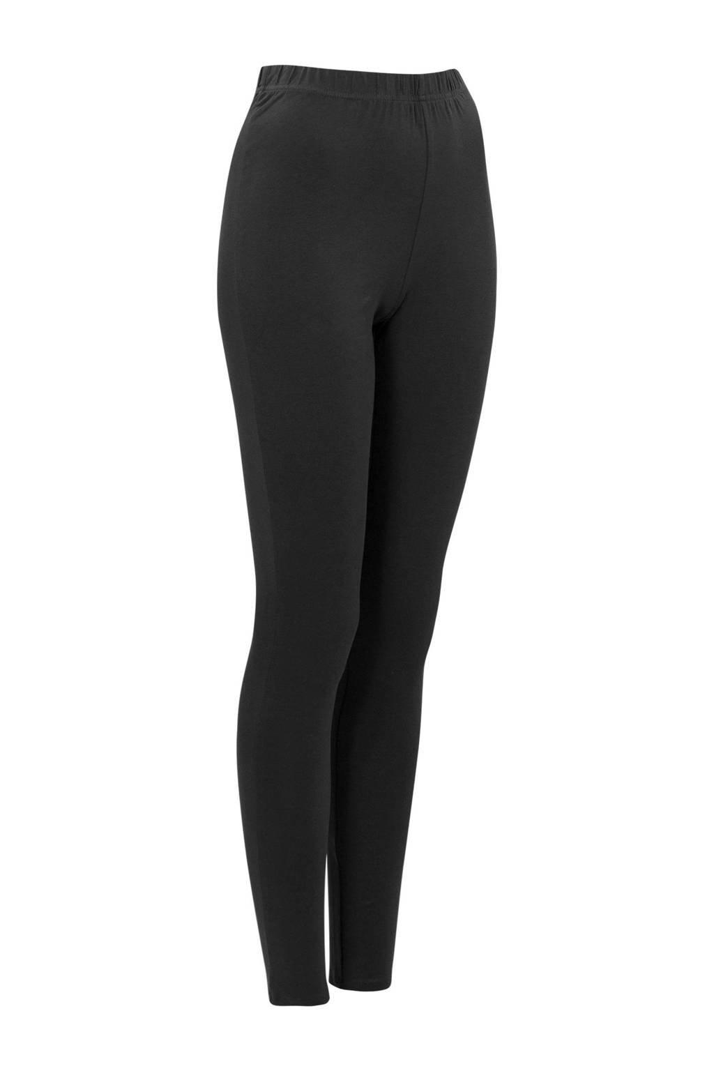 Miss Etam Lang legging  zwart, Zwart
