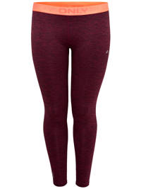 Only Play / Only Play Curvy sportbroek aubergine